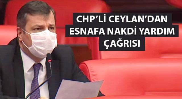 CHP'li Ceylan'dan esnafa nakdi yardım çağrısı