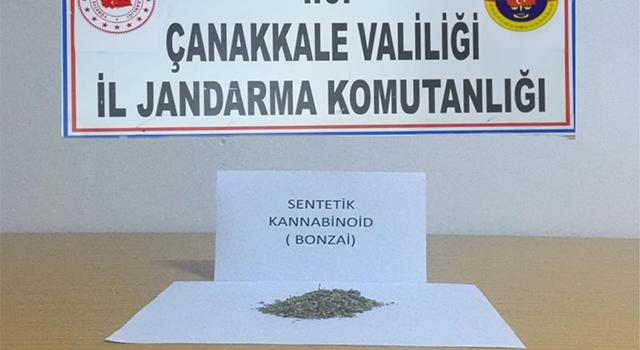 Gelibolu'da iki uyuşturucu kullanıcısı yakalandı!