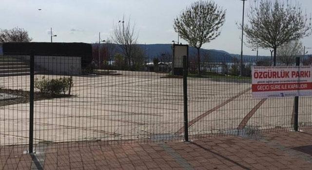 Özgürlük Parkı da kapatıldı!
