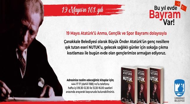 Çanakkale Belediyesi 19 Mayıs'ta gençleri 'Nutuk' ile buluşturacak