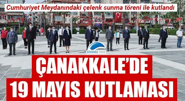 Çanakkale'de 19 Mayıs kutlaması