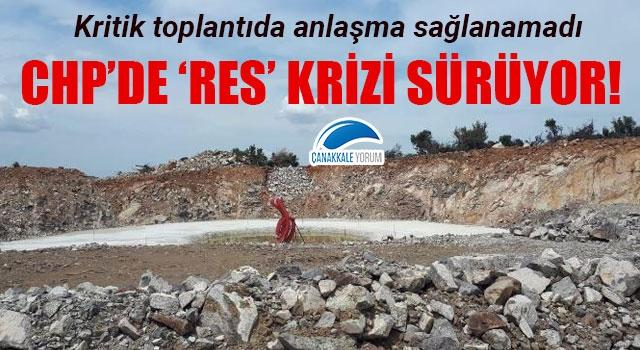 CHP'de 'RES' krizi sürüyor: Kritik toplantıda anlaşma sağlanamadı!