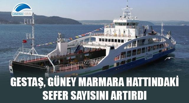 Gestaş, Güney Marmara hattındaki sefer sayısını artırdı