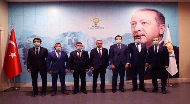 AK Parti'de üç ilçe başkanı belli oldu