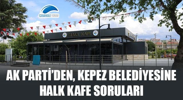 AK Parti'den, Kepez Belediyesine 'Halk Kafe' soruları