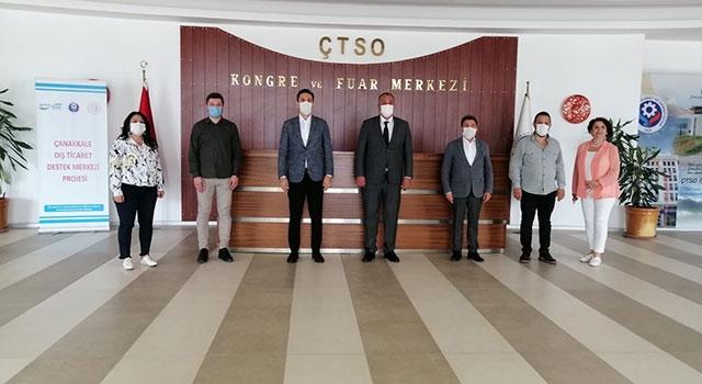 AK Parti'den, ÇTSO'ya ziyaret
