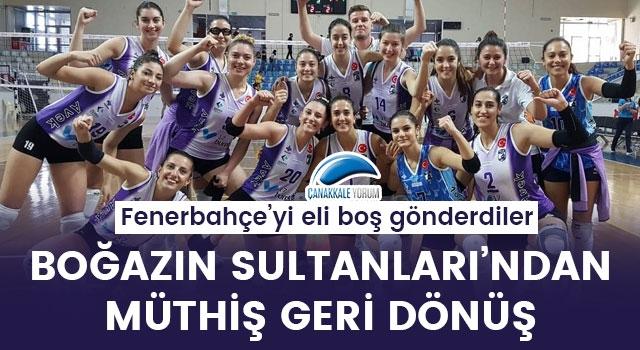 Boğazın Sultanları'ndan müthiş geri dönüş: Fenerbahçe'yi eli boş gönderdiler!