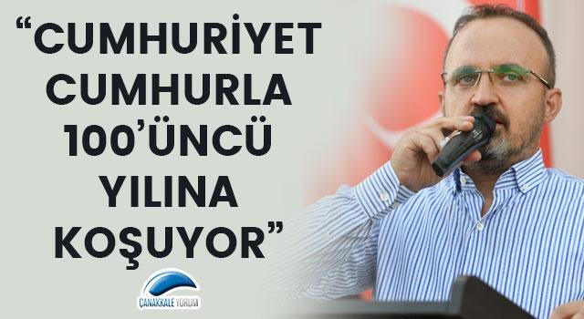 """Bülent Turan: """"Cumhuriyet, cumhurla 100'üncü yılına koşuyor"""""""