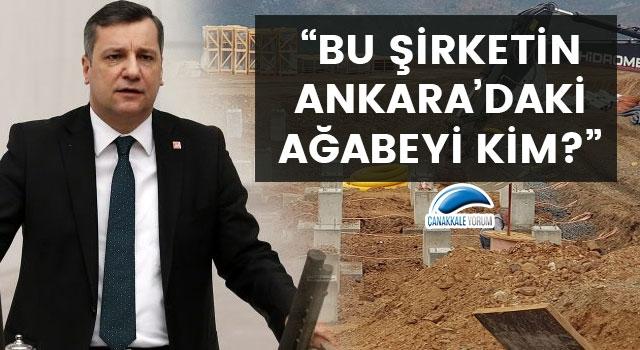 "Özgür Ceylan: ""Bu şirketin Ankara'daki ağabeyi kim?"""