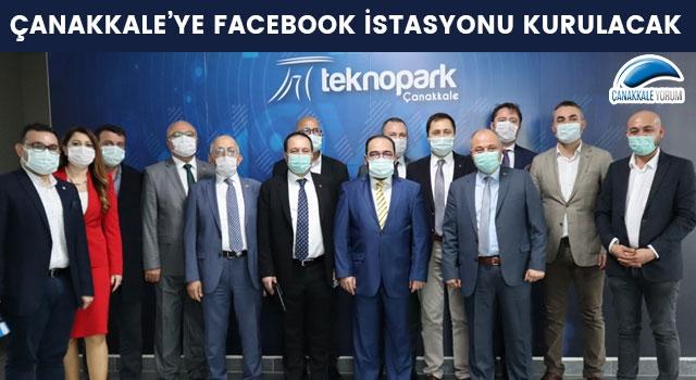 Çanakkale'ye 'Facebook İstasyonu' kurulacak