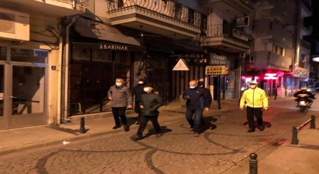Vali Aktaş, sokağa çıkma kısıtlamasını denetledi