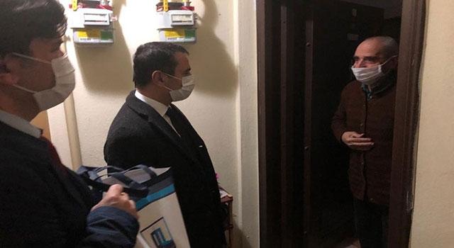 Vali Aktaş'tan, gazi ziyaretleri