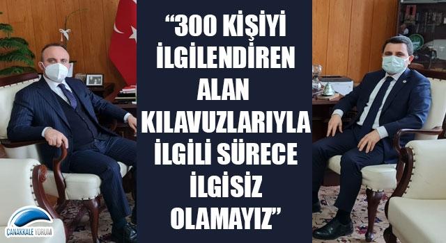 """Bülent Turan: """"300 kişiyi ilgilendiren alan kılavuzlarıyla ilgili sürece ilgisiz olamayız"""""""