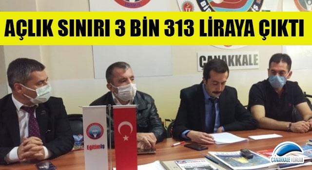 """Birleşik Kamu İş Konfederasyonu: """"Açlık sınırı 3 bin 313 liraya çıktı"""""""