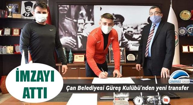 Çan Belediyesi Güreş Kulübü'nden yeni transfer
