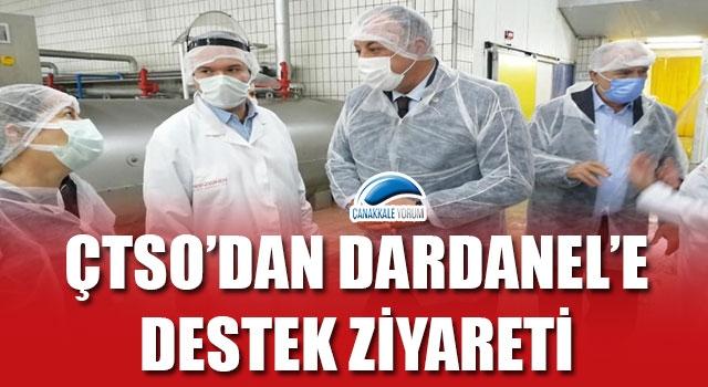 ÇTSO'dan, Dardanel'e destek ziyareti