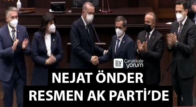 Nejat Önder resmen AK Parti'de