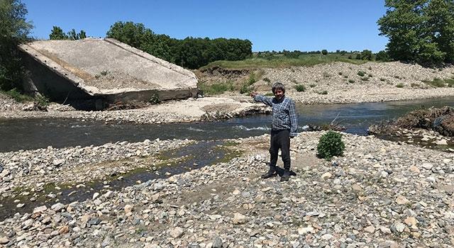 Yenice'de köylülerin 26 yıllık köprü çilesi!