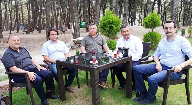 Başkan Bayram'a ESHOT'tan ziyaret