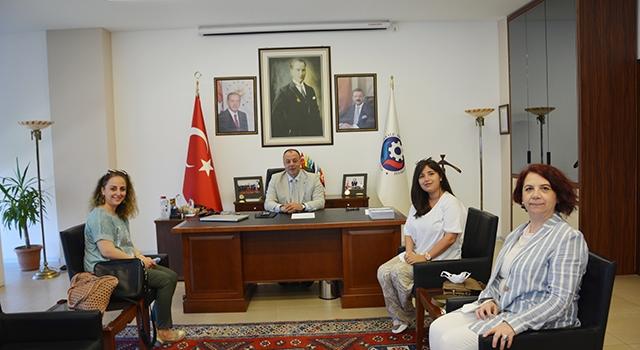 ÇOMÜ akademisyenlerinden, ÇTSO'ya ziyaret