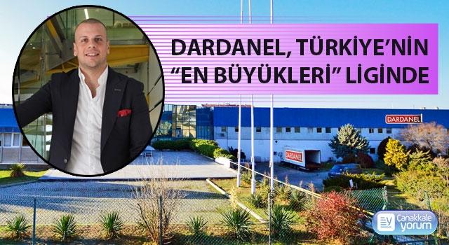 """Dardanel, Türkiye'nin """"en büyükleri"""" liginde"""
