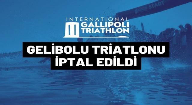 Gelibolu Triatlonu, müsilaj nedeniyle iptal edildi