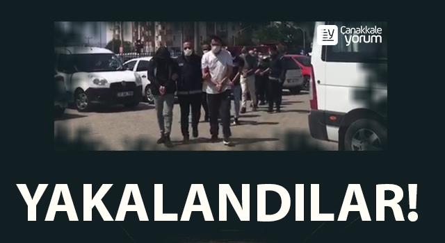 Göçmen kaçakçıları Çanakkale'de yakayı ele verdi!