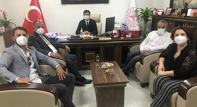 ÇTSO'dan İl Sağlık Müdürü Baştürk'e ziyaret