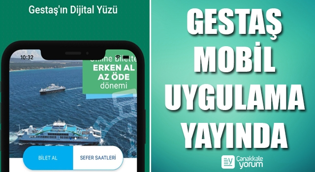 Gestaş Mobil Uygulama yayında
