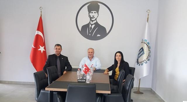 İŞ-KUR Müdürü Yavuz'dan, OSB Başkanı Ersoy'a ziyaret