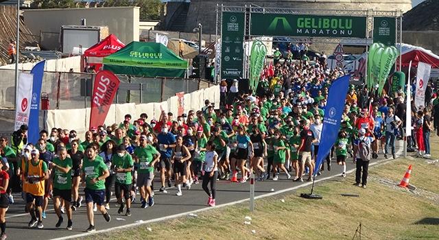 Uluslararası Gelibolu Maratonu 6'ncı kez koşuldu