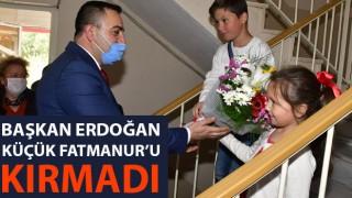 Başkan Erdoğan, küçük Fatmanur'u kırmadı