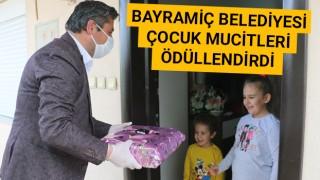 Bayramiç Belediyesi çocuk mucitleri ödüllendirdi