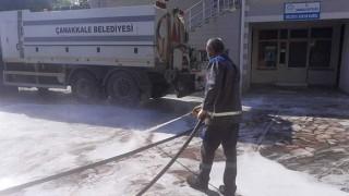 Çanakkale'de camiler dezenfekte ediliyor