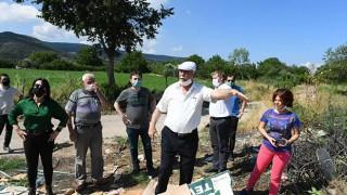 Başkan Gökhan, baraj havzasındaki köyleri inceledi