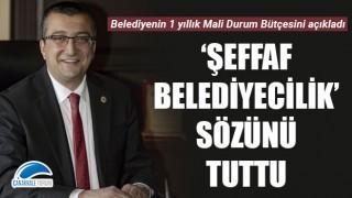Başkan Öz 'şeffaf belediyecilik' sözünü tuttu