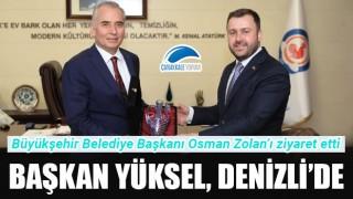 Başkan Yüksel, Denizli'de
