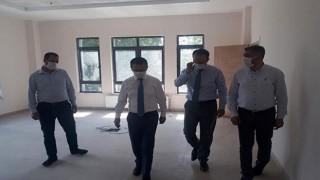 Bayramiç Hükümet Konağı'nda çalışmalar sürüyor