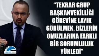 """Bülent Turan: """"Tekrar Grup Başkanvekilliğine layık görülmek, bizlerin omuzlarına farklı bir sorumluluk yükledi"""""""