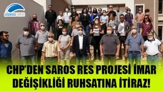 CHP'den Saros RES Projesi İmar Değişikliği Ruhsatına itiraz!