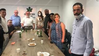 Gelecek Partisi Kurucular Kurulu Üyesi Akmaz'dan, İl Başkanlığına ziyaret