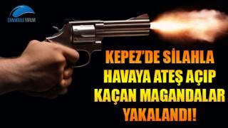 Kepez'de havaya ateş açıp kaçan magandalar yakalandı!