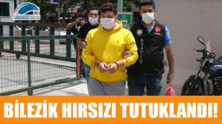 Kepez'deki kuyumcuyu soyan bilezik hırsızı tutuklandı!