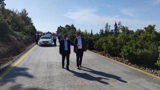 Köydes desteğiyle köy yolları beton yol ile bağlanacak