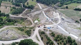 Yenice Kovancı Barajı'nda çalışmalar sürüyor