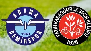 Adana Demirspor Karagümrük final maçı ne zaman, saat kaçta ve hangi kanalda?
