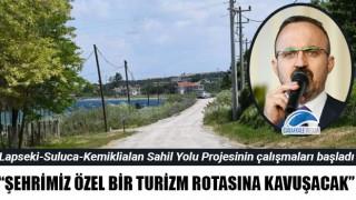 """Bülent Turan: """"Şehrimiz özel bir turizm rotasına kavuşacak"""""""