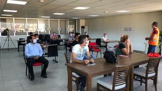 ÇTSO, TOBB MEYBEM iş birliğinde Motorlu Kara Taşıtları Sınavı yaptı