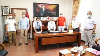 Gelibolu Belediyesinde, Toplu İş Sözleşmesi imzalandı