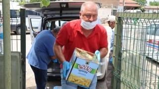 Gelibolu Belediyesinden yangın bölgesine kumanya desteği
